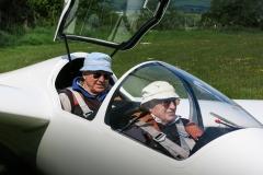Bo and John Coward in the K21