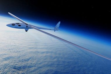 Perlan 2. High Altitude Record Setting Glider by Airbus