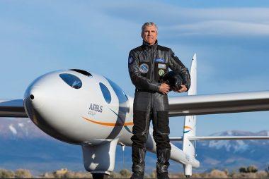 Perlan 2. Pressurised Glider and Pilot