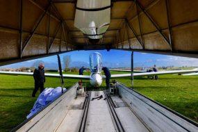 Rigging Portsmouth Naval GC's K21 Glider