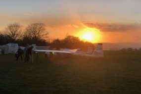 The End of a Great Days Soaring at BMGC