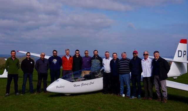 Royal Navy Gliding & Soaring Association and Seahawk GC